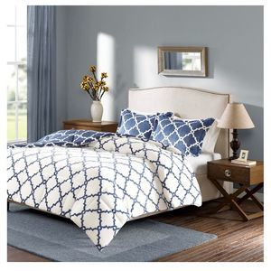 King Reversible Plush Comforter Set